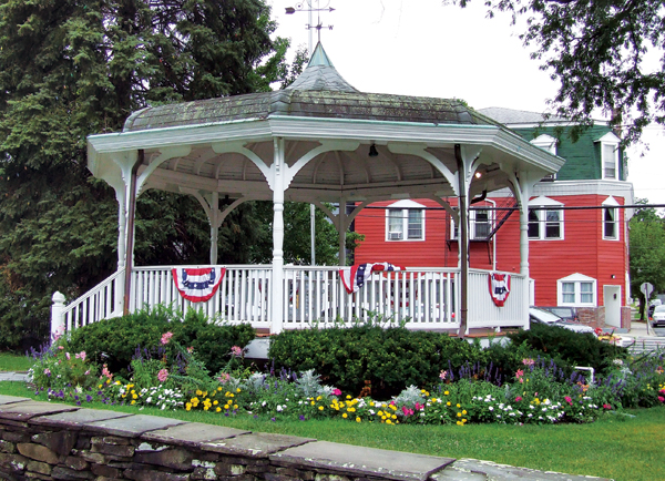 The village bandstand will need to undergo some renovations before it's ready to be part of the 30th anniversary celebration next year.