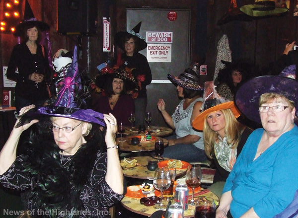 Photo by Jason Kaplan The first Witch Hat Party was held on Oct. 24, to raise money for Hospice of Orange and Sullivan Counties. The event required guests to wear a witch's hat and make a $10 donation. Nearly $2,000 was raised.