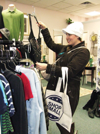 File photo The fourth annual Shop Hop will take place on Nov. 28. The event, held in conjunction with Small Business Saturday, encourages people to shop locally.