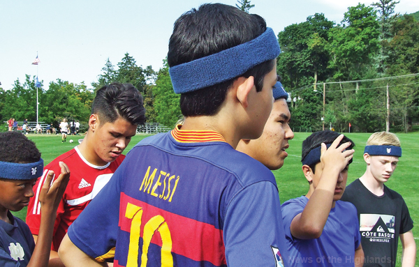 Students participating in contact sports will be required to wear headbands designed to decrease the chance of a concussion.