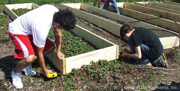 File photo The Cornwall High School Environmental Club is raising money to design a new garden.
