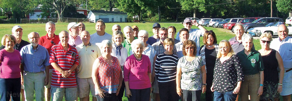 The Class of 1967 attended the Cornwall-NFA football game and then headed south for a picnic at the Black Rock Fish and Game Club.