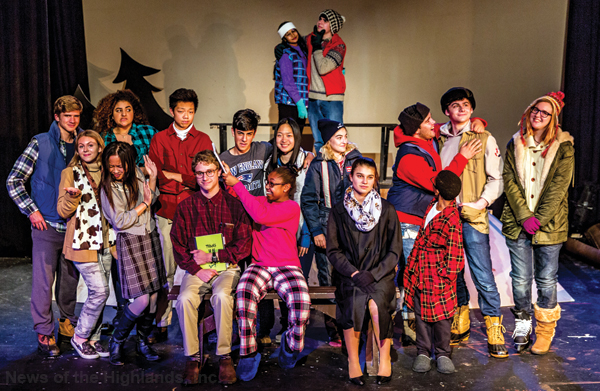 "Photo contributed Storm King School Department of Visual and Performance Arts will put on the play ""Almost, Maine"" this weekend."